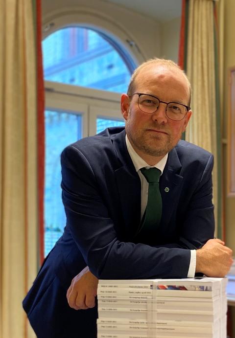 Stortingsrepresentant Ole André Myhrvold, Østfold Senterparti