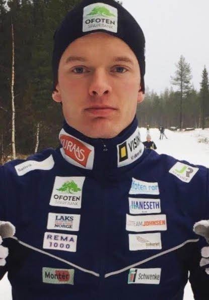 Vegard Johnsen, Ankenes Skiklubb.