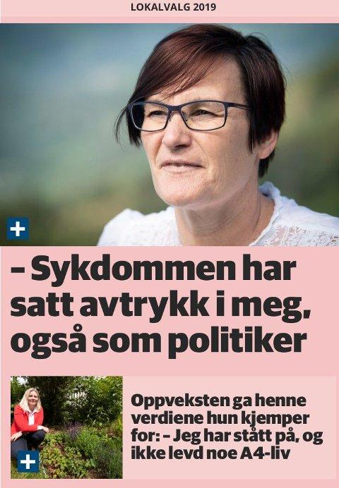 KANDIDATER: Skjermdump av ordførerkandidatintervjuer i GD.