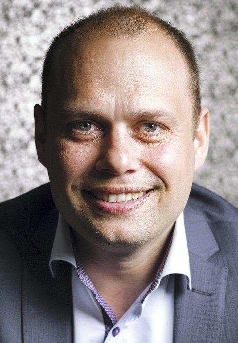 GODT RESULTAT: Halvard Fjeldvær er administrerende direktør i Svorka i Surnadal, og leverer rekordresultat for 2018.