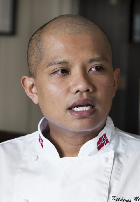 CURITSEN: Sebastian Engh er kjøkkensjef og daglig leder på Curtisen.