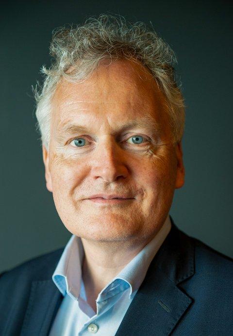 STYRELEDER: Arne Benjaminsen er styreleder i Helgelandssykehuset