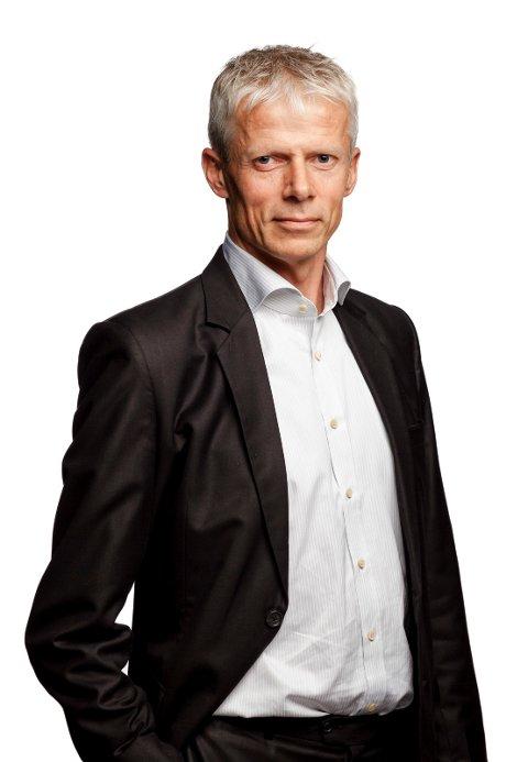 Innrømmer tabbe: Skattedirektør Hans Christian Holte.
