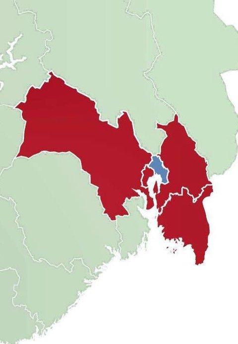 Består Viken etter høstens valg? Senterpartiet ønsker å skrote den nye regionen.