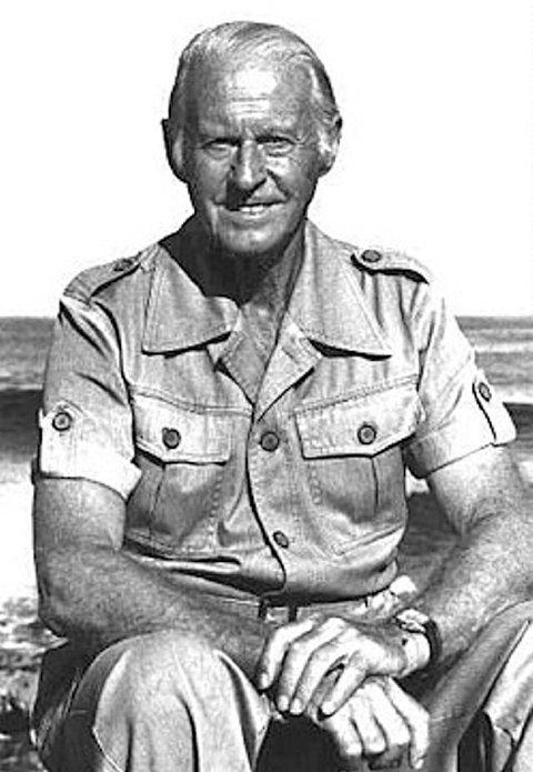 Thor Heyerdahl, eventyrer, forfatter og arkeolog.