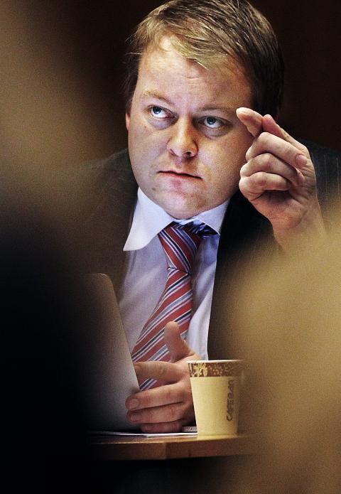 Bystyret 2011 Varaordfører Erlend Wiborg oh bystyrerepr. Arild Svensson (Frp)