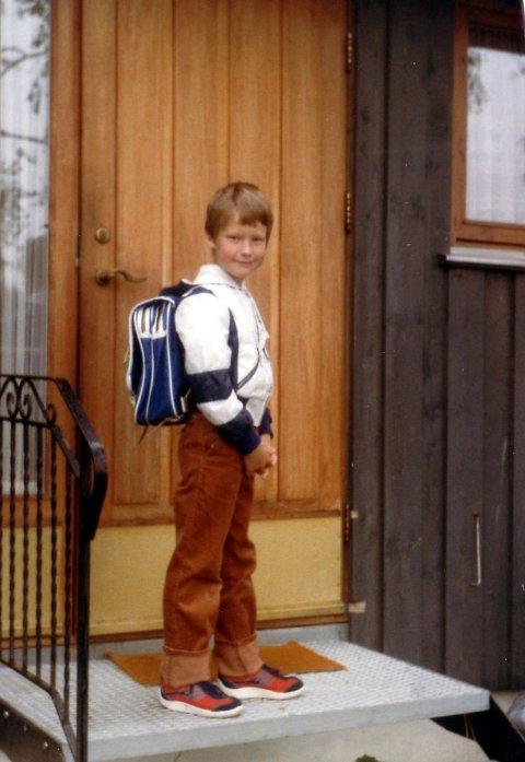 STRIGLA OG USKYLDIG: Første skoledag - før Syndefloden.