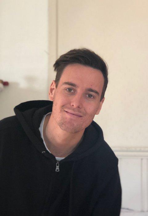 Populær: Erik Greibesland (24) var nominert på en 8. plass til menighetsrådet. Valget viste at medlemmene stemte ham inn på 3.plass.