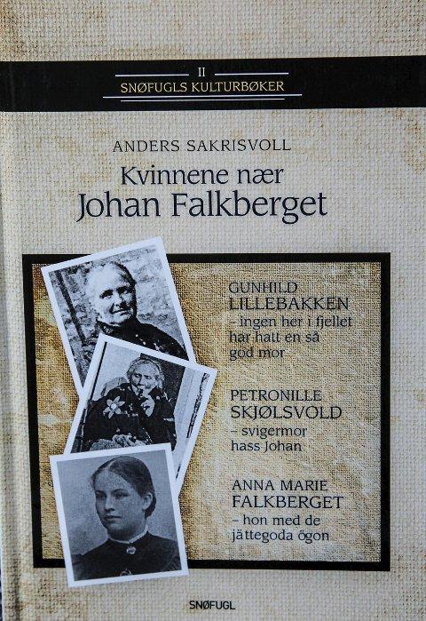 Omslag: Den nye boka til Anders Sakrisvoll.