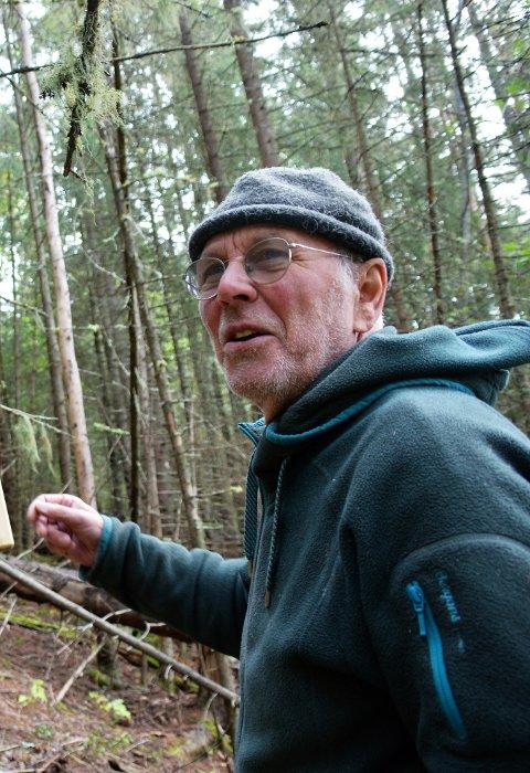 INVITERER TIL NETTDEBATT: Fred Kuyper, styreleder i Naturvernforbundet i Valdres, vil ha fokus på de store konsekvensene av naturtapet i Norge og verden for øvrig.