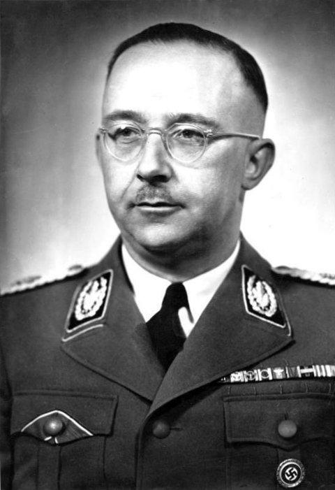 Henrich Himmler. Lederen for det tyske politiet. Han var mannen som utviklet Gestapo til det det ble