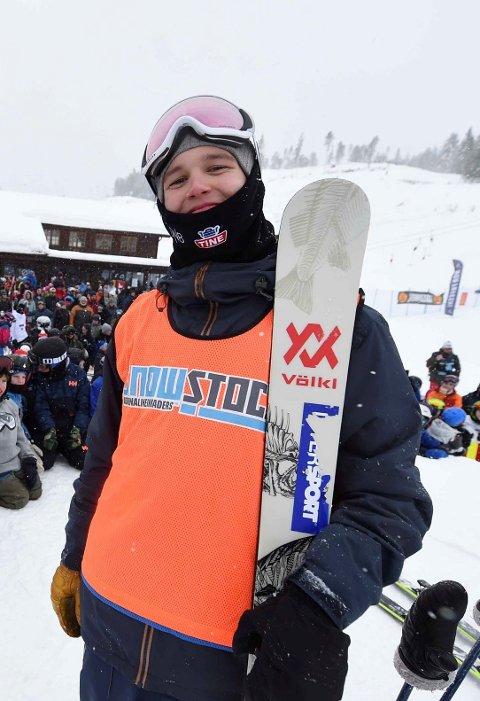 TIENDEPLASS: Tevje A. Skaug var fornøyd med tiendeplassen i ungdoms-OL.