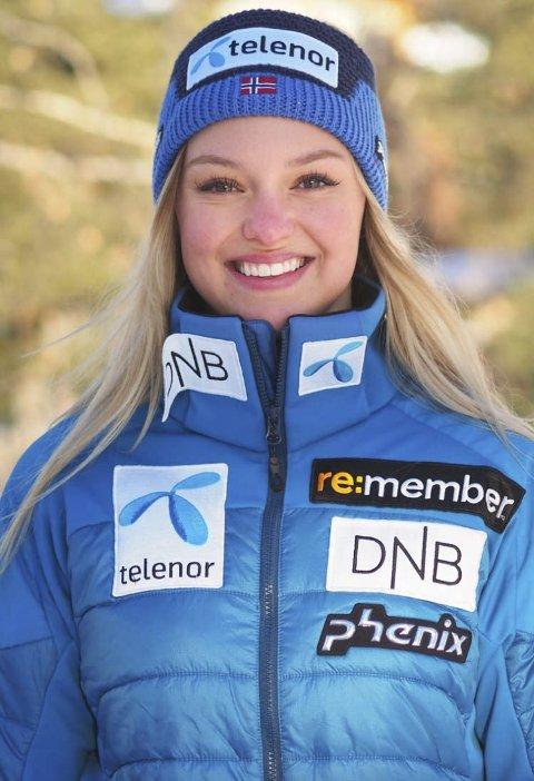 SLALÅM: Thea Louise Stjernesund kjører v-cup i slalåm i helga. FOTO: NTB scanpix