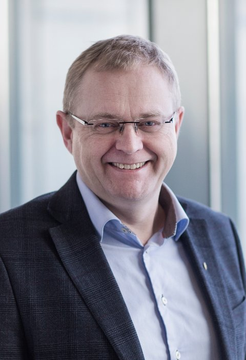 SVARER: Kommunikasjonsdirektør Dag Inge Aarhus i Sjøfartsdirektoratet mener sikkerheten må komme først.