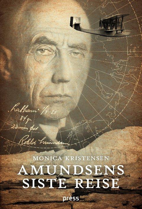 UTVALGT: Amundsens siste reise av Monica Kristensen er Irene Nørbergs heteste tips. Flere tips finner du lengre ned i denne saken.