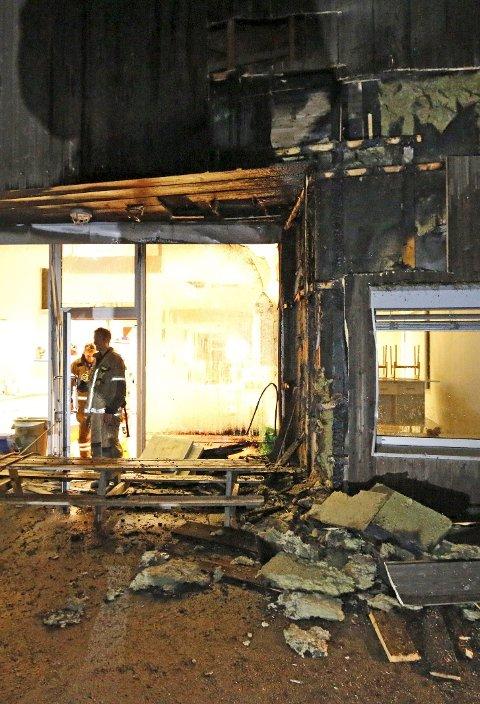 Brann: Langhus barnehage ble påtent onsdag i forrige uke.foto: Stig Persson