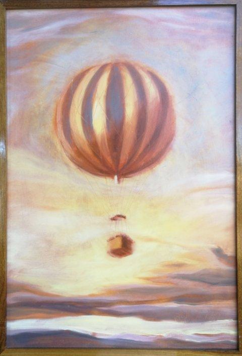 Maleri på utstillingen, av Silje Høidal