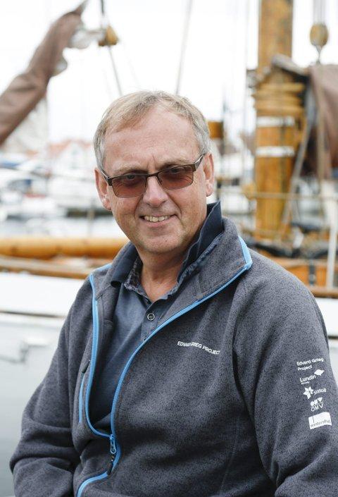 Klar, ferdig, gå: Olav Torkelsen har vært festivalsjef de siste tre årene. Foto: Alf- Robert Sommerbakk