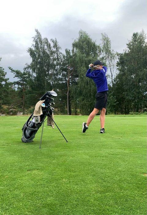 HOBBY: Selv med imponerende innsats i Srixon Tour, vil ikke Kristian Samuelsen Moe satse for fullt på golf.