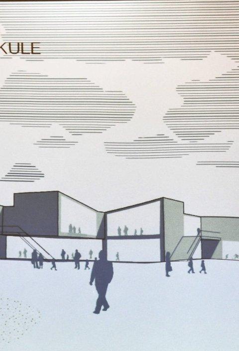 FREMTIDENS SKOLE: Helen & Hard Arkitekter tegnet en ny skole i Sauland.