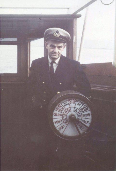 KOLNES FRÅ KOLNES: Kaptein Gudmund Kolnes (født) 1909.