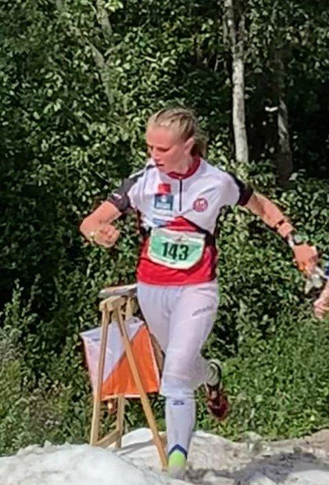 PREMIEPLASS(18.plass) i D15 til Guro Schjølberg fra Tynset på Hovedløpets langdistanse.