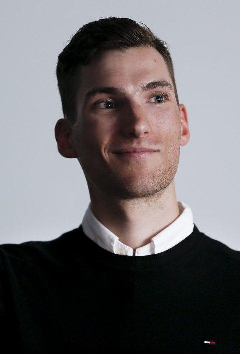 HEDERSGJEST: Sven Erik Bystrøm på «Sykkelkveld» i Haugesund i forrige uke.