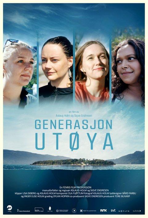 Vi får et sterkt møte med Renate Tårnes, tidligere generalsekretær i AUF (fra venstre), Line Hoem, Ina Libak og Kamzy Gunaratnam i Aslaug Holm sin dokumentarfilm »Generasjon Utøya».