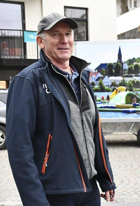 Fornøyd: Lars Molleklev er gald for at mange har lånt utstyr hos Frivilligsentralen.