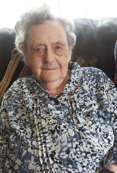 100 ÅR: Onsdag 15. juli runda Marta Tvedt 100 år.