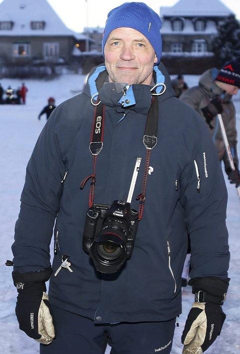 FORNØYD: Primus motor Sverre Jarild var fornøyd med hvordan dagen artet seg.