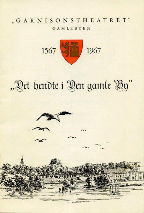 Programmet fra 1967, laget av Ivar Bruu