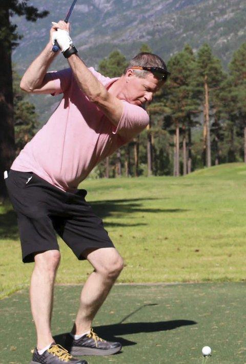 I SKJOMEN: NNM i golf går over tre dager i helgen. Arrangør er Narvik Golfklubb.