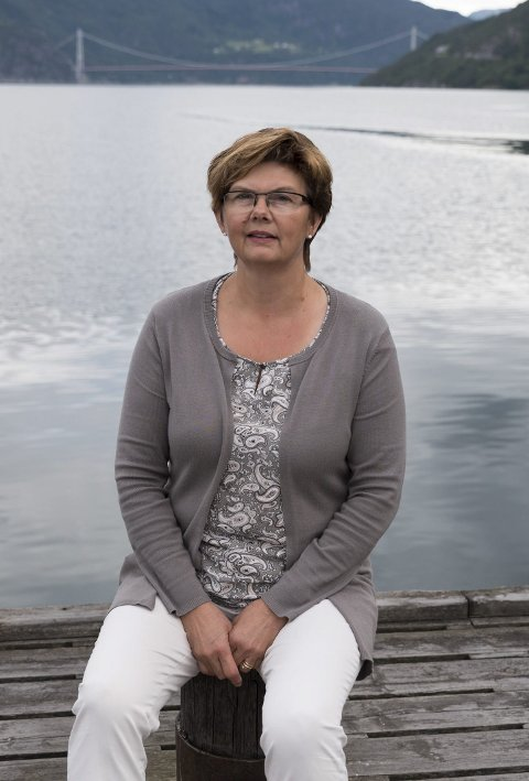 Nyvalt leiar: Solfrid Borge erstattar Einar Lutro som styreleiar for Hardangerbrua AS.