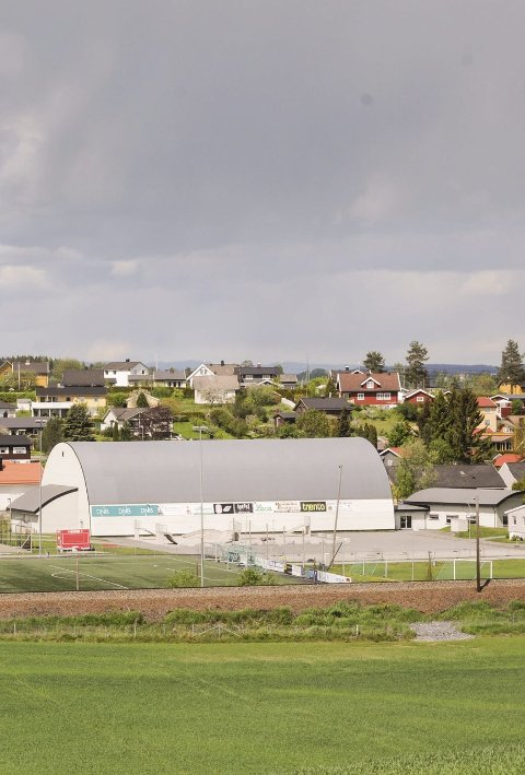 Får penger: Sørumsand IF vedlikeholder Idrettsparken.