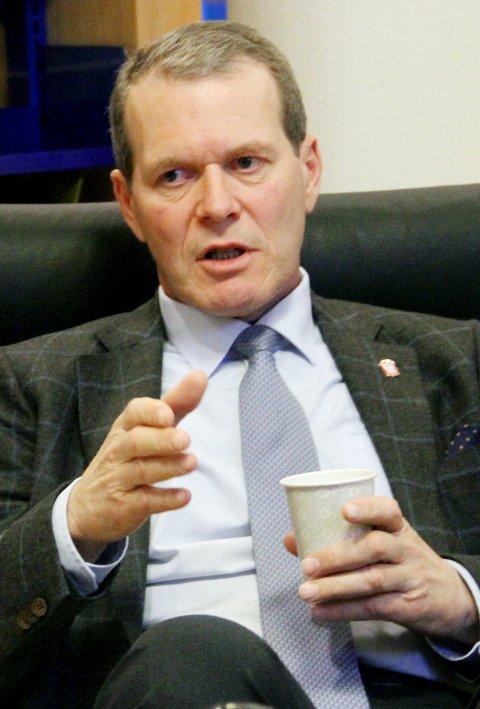 Tar grep: Ordfører Alf Johan Svele skal møte politiet til uken.arkivfoto