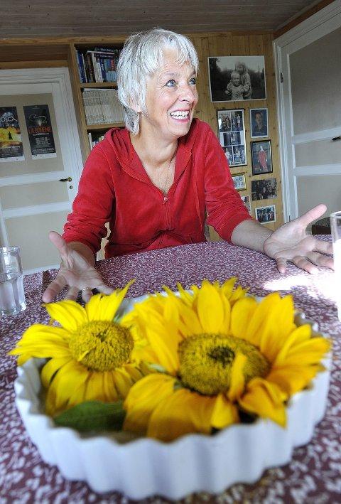 Måtte snu seg: - «Flaggermusen» er ingen reserveløsning, men en flott operette, mener Anne Felberg.foto: christian clausen