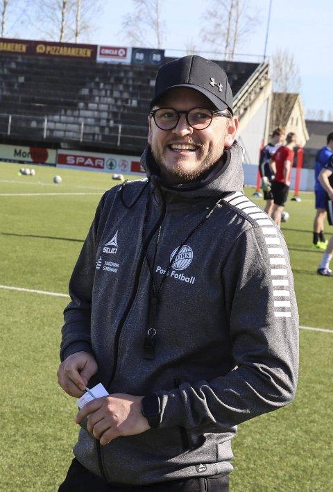 Stig Haddal: Tror på tre poeng i lørdagens kamp mot Oppsal i Oslo.