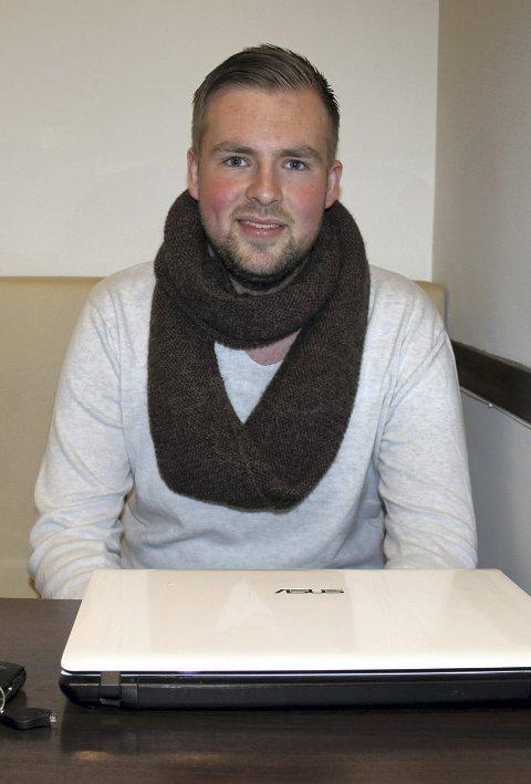 MER: Christoffer Pedersen i Røyken Frp vil ha Spikkestadbanen som regiontog.