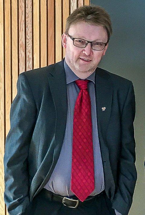 TRIST: Brynjar Høidebraaten synes det er trist at Ståle Solberg melder seg ut av KrF, men er ikke enig i beskrivelsen av konflikten mellom Sarpsborg KrF og fylkespartiet.