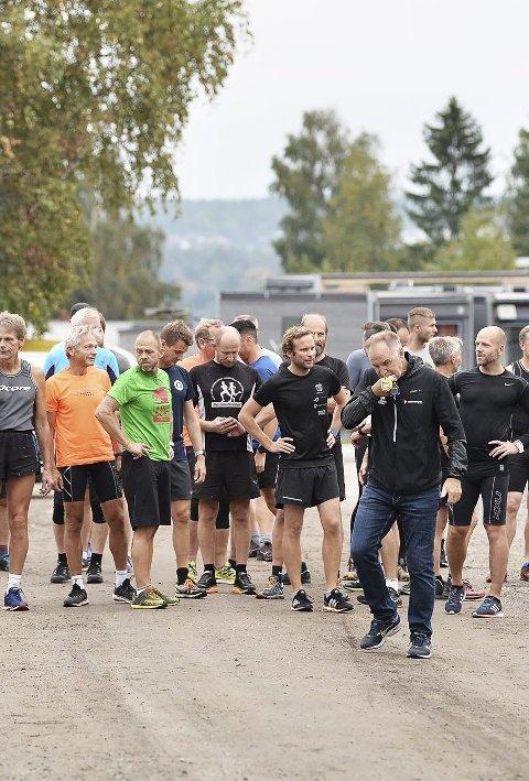 Bra deltakelse: Også denne uken var det bra deltakelse i Torsdagsløpet.foto: privat