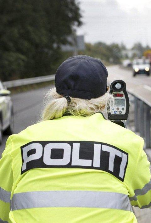 Bot: Ni bilister kjørte hjem med forelegg fra politiet.