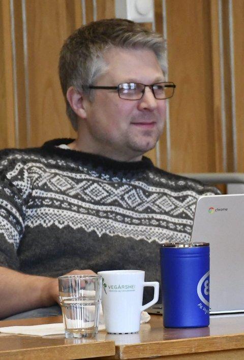 Informerte: Are Garthus (KrF)og Tore Smeland, enhetsleder samfunn og infrastruktur.