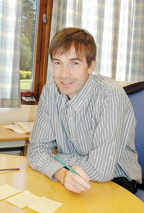 Har søkt: Rikard Hansen fra Songe har søkt på rektor-stillingen. Arkivfoto