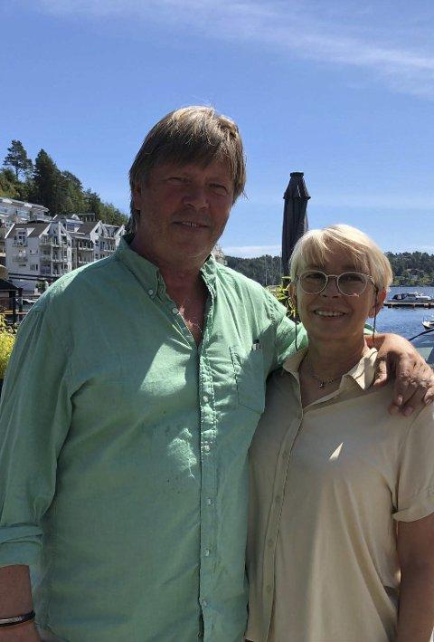 Hotelldriverne: Pål-Erik Jahnsen og Dorthe Suurballe.