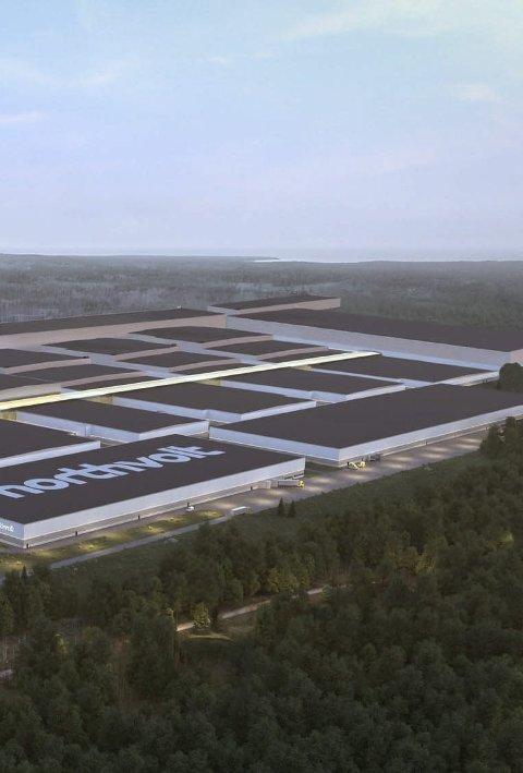 Store arealer: Mye planlegging gjenstår for ny fabrikk.