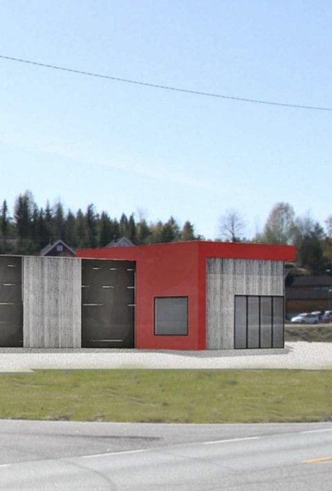 Begynner snart: Nytt butikkbygg i Sundbyfoss. Snarlig byggestart.