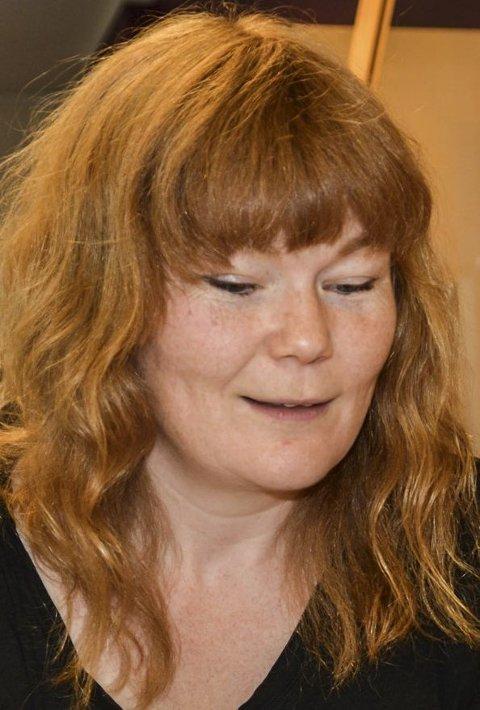 ARRANGØR: Biblioteksjef Anneline Mjøseng i Flesberg.