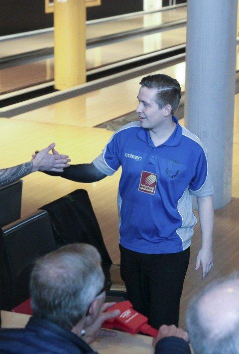 Viktig: Rana bowlingklubb og Marius Kvitnes må levere i helgas hjemmekamper. Foto: Trond Isaksen