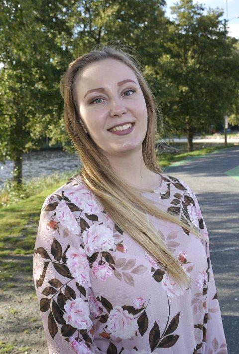 Ambisjoner: Silje Flaten Haugli har flyttet fra froland til Tvedestrand for å satse på politikken.